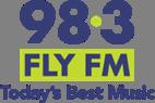 98.3 FLY FM radio station logo